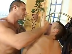 Sub Twink Abused by Muscle Hunk