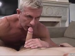 Always Horny Son Fucks Dad Everywhere