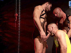 Aymeric DeVille, Francois Sagat, Hunter Marx, Jessy Ares in Incubus