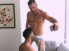 Buff dudes Manuel Skye and Mick Stallone fuck hard