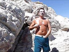 Cabo 2018 Speedo Bulge Beach Jerkoff and Cum