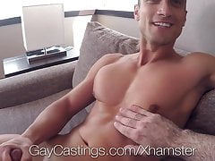 GayCastings Casting agent takes ADVANTAGE of newcomer
