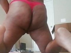 In my red thong