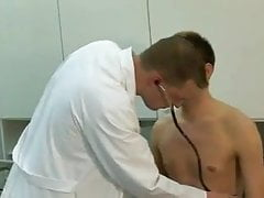 East German Military Doctor in Action